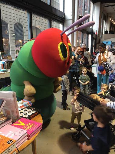 What Being Inside A Very Hungry Caterpillar Costume Taught