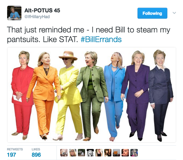 IfHillaryHad BillErrands