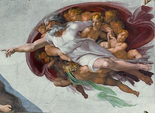The Creation of Adam copy