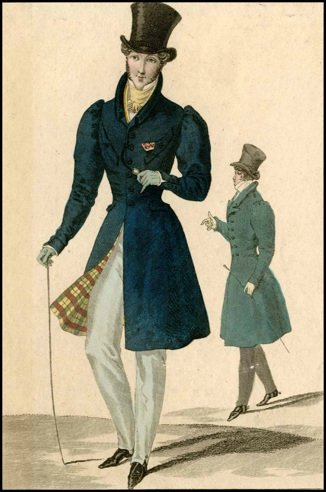 Here S What Fashionable Men Dressed Like In The 1800s