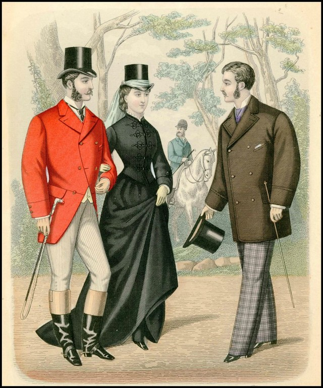 Here's What Fashionable Men Dressed Like In The 1800s