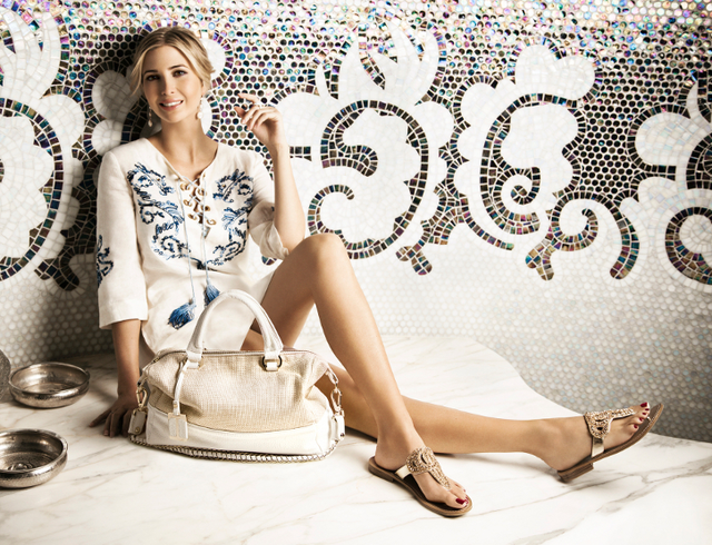 Ivanka Trump shoes and accessories collection 2012