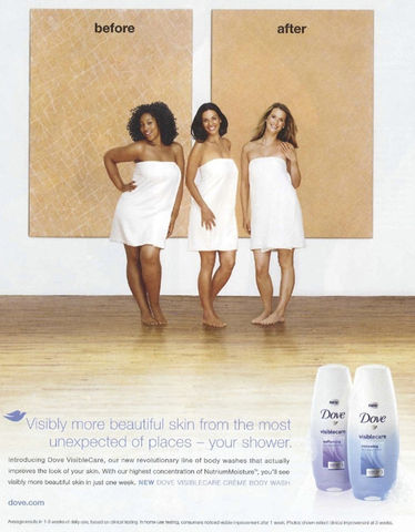 DOVE VISIBLE CARE AD 5c2ab