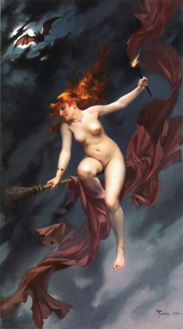 The witches Sabbath by Luis Ricardo Falero 86048