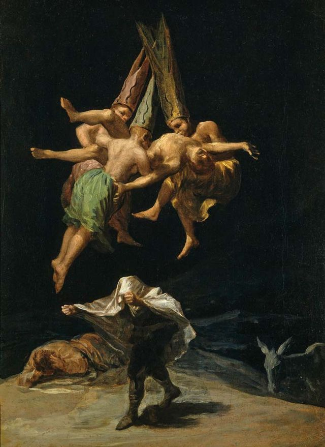 Witches Flight Goya a4f86
