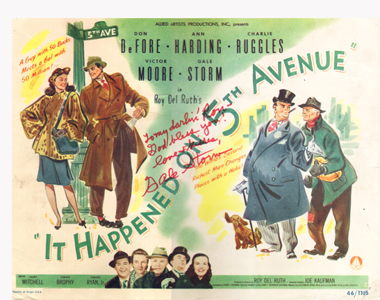 it happened on 5th ave poster 198c6