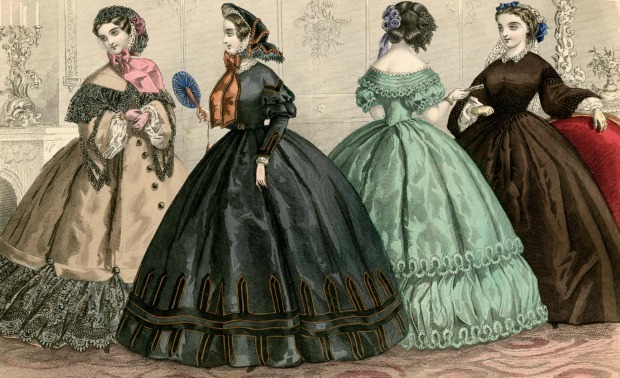 9b309b83578 How Victorian Women Kept Those Fancy Dresses Clean
