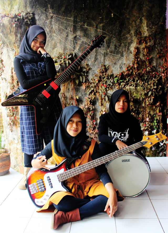 This Indonesian Metal Band Is Shattering Stereotypes About