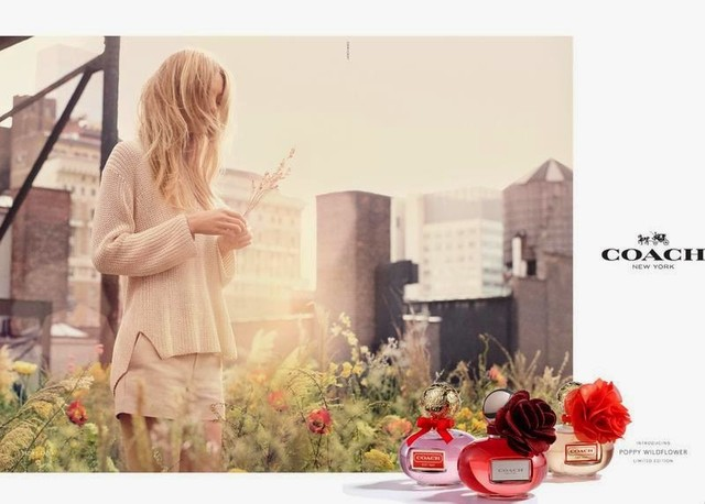 coach poppy wildflower ad campaign advertising 2014
