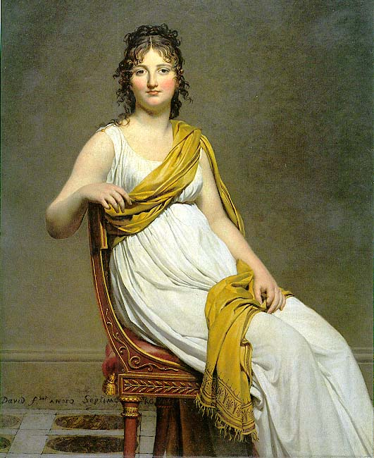 henriette de verninac by jacques louis david 1799
