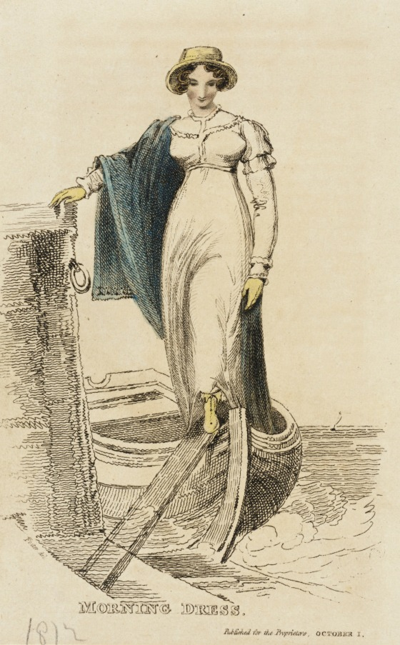 morning dress october 1812