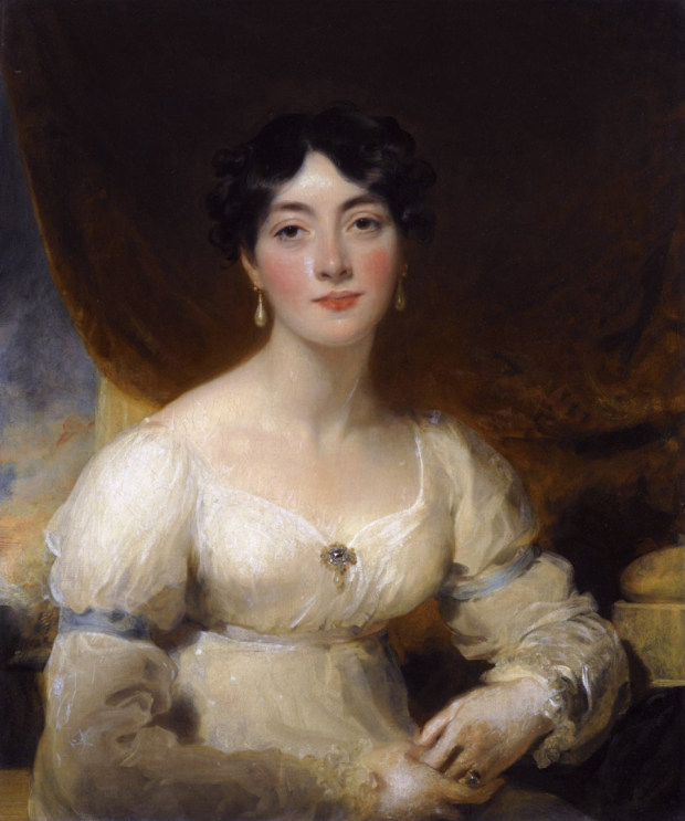 portrait of elizabeth mrs horsley palmer d 1839 by thomas lawrence 19h century
