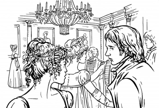 This Jane Austen Adult Coloring Book Lets You Doodle Mr Darcy