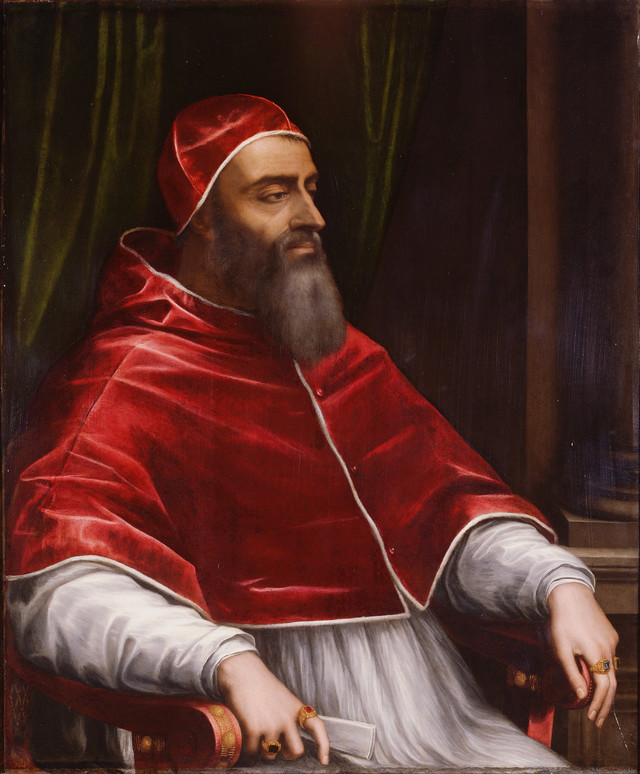 pope clement vii by sebastiano del piombo 1531