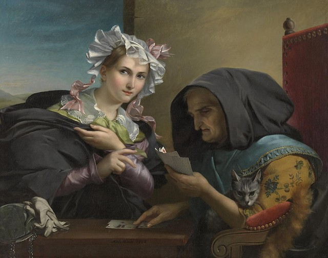 the fortune teller by adele kindt 1835