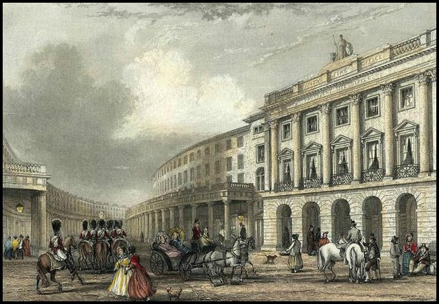 quadrant regent street engraved by j woods after j salmon 1837 copy