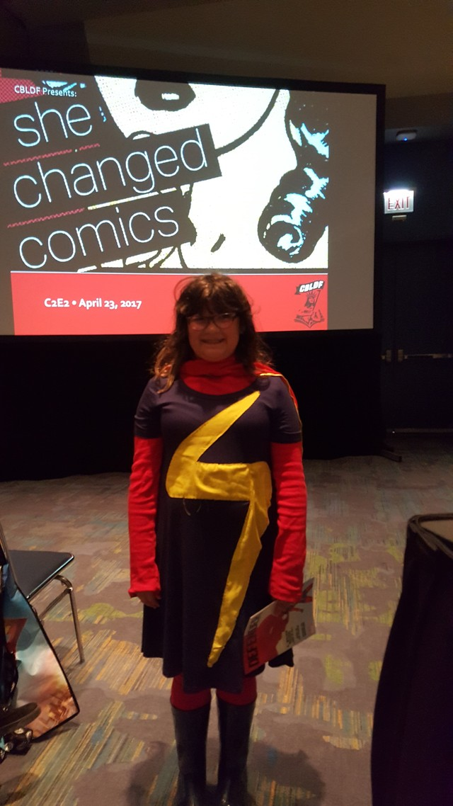 Ms Marvel Cosplayer eve Oppenheim copy