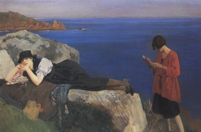 dame laura knight summertime cornwall