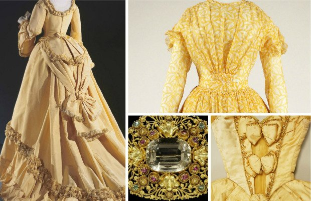 shades of victorian yellow