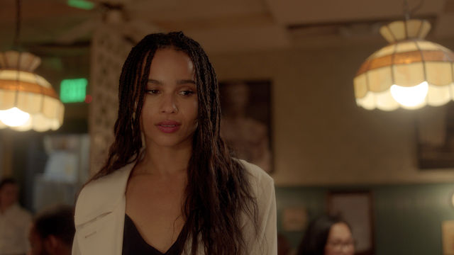 2 Heather Zoe Kravitz arrives in Aaron Katzs GEMINI courtesy of NEON 840d3