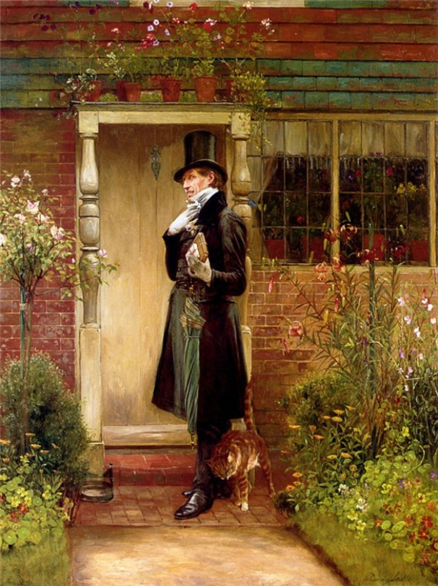 The Suitor by Walter Dendy Sadler 1854 1923 n.d 995b9