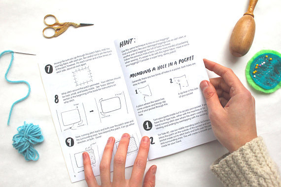 This Zine Shows You How To Mend Your Clothes—And Make Your
