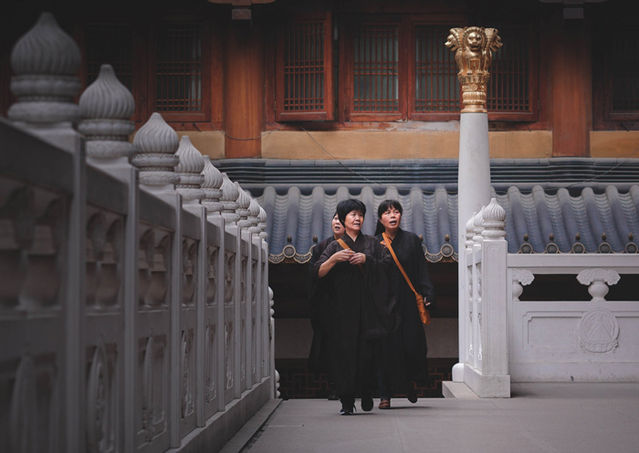 Jingan temple Women Monks 1d228