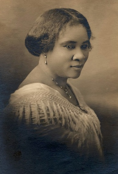 Madam CJ Walker face circa 1914 0676a