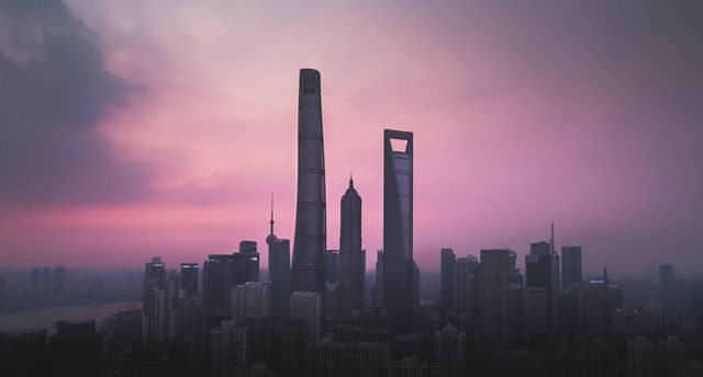 Shanghai Urban Jungle Sunset aab2c