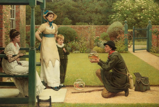 the goldfish seller by leslie george dunlop 1835e280931921