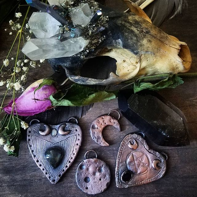 Copper Jewelry Making with Bewitched Boneyard