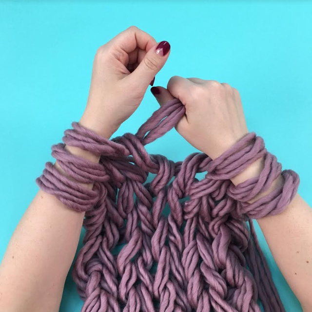 Arm Knitting with Brooklyn Craft Company