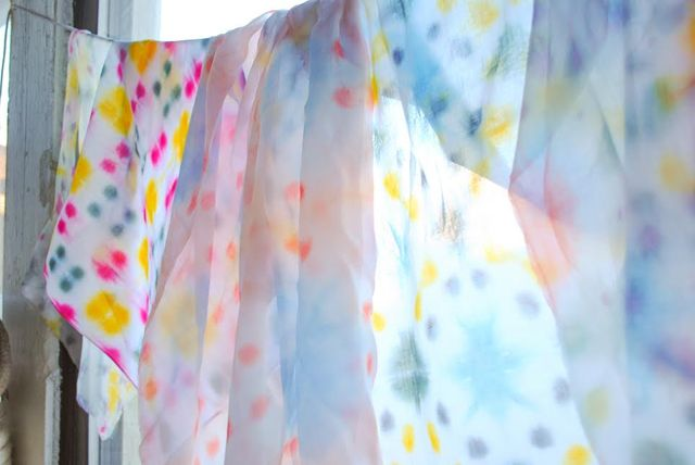 Kaleidoscope Dyeing with WE GATHER