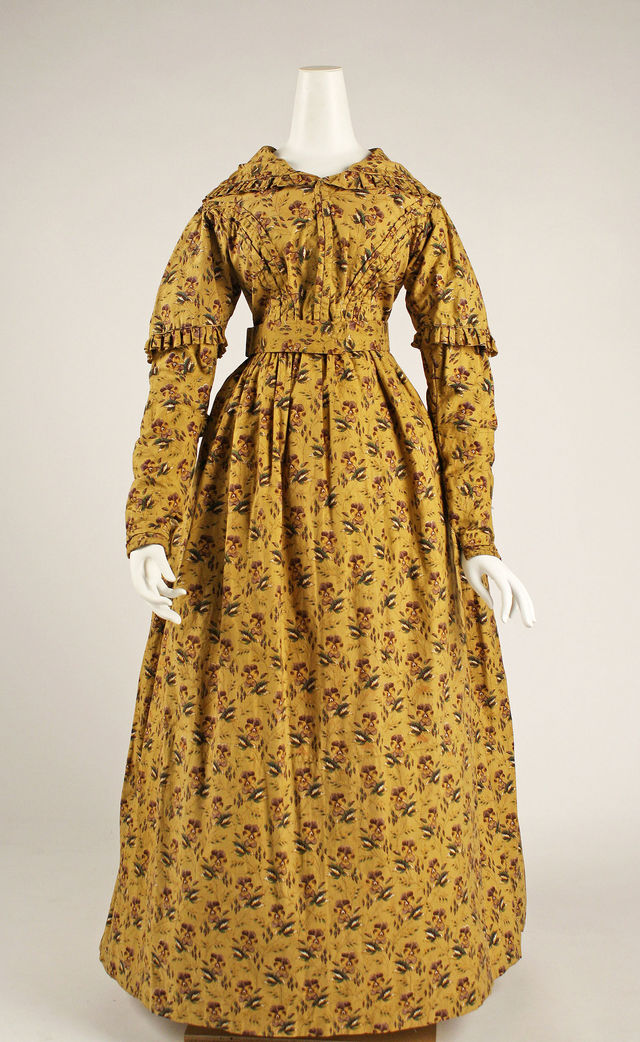 1840 british cotton dress via met museum 074ab