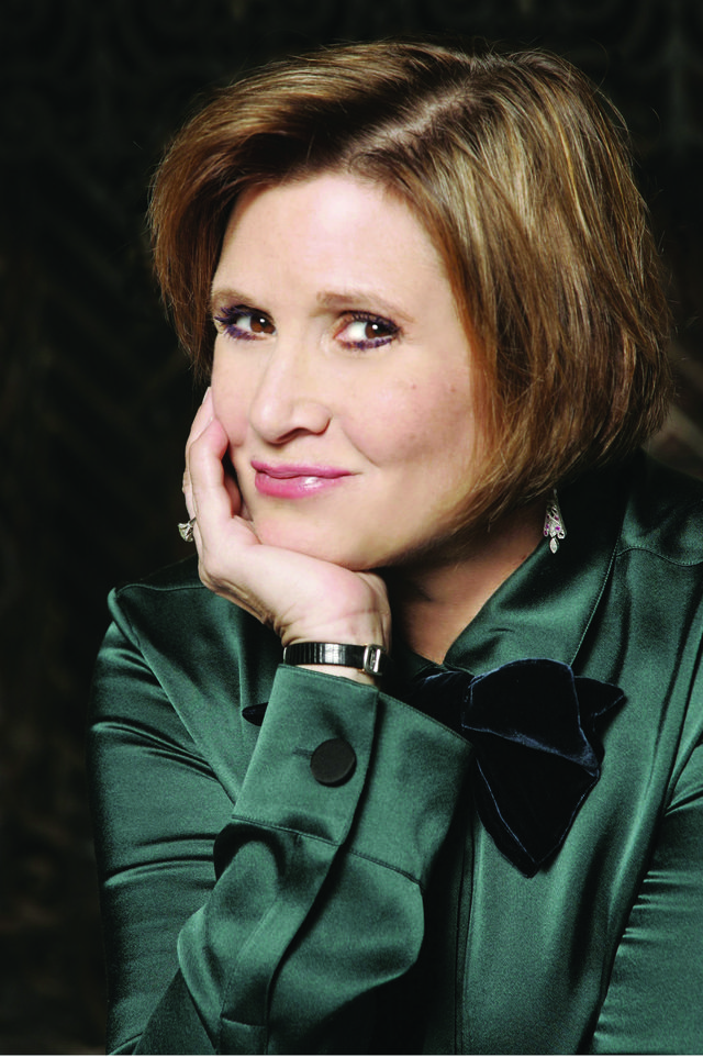 Carrie Fisher author photo credit Michael Lamont Jpeg 8f7e9