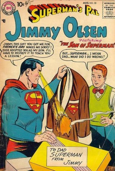 jimmy olsen adopted by superman c8bf4