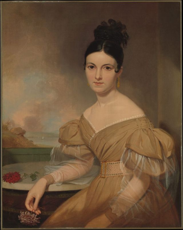 portrait of mrs winfield scott by asher brown durand 1831 813x1024 925b4