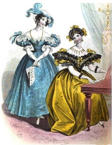 the court magazine and belle assemblee image 1833 d5f19