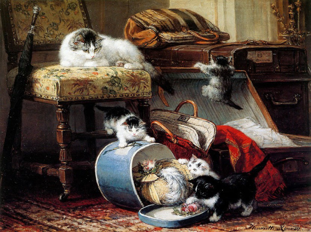 unknown title by henriette ronner knip 1821 1909 cddb9
