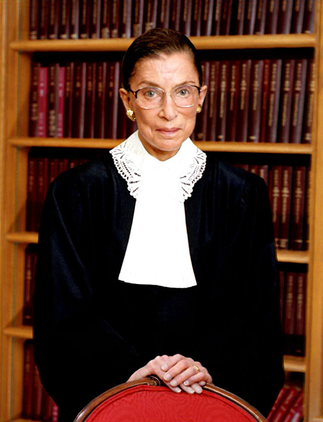 Ruth Bader Ginsburg SCOTUS photo portrait 86274