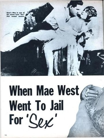 mae west jail poster ce553