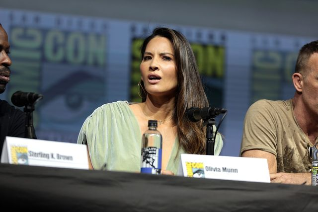 Olivia Munn thankful for support from outside 'Predator' family