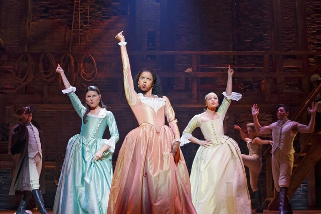 Hamilton Broadway Phillipa Soo Renee Elise Goldsberry Jasmine
