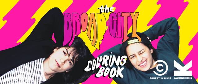 Look Inside This Dope New Coloring Book From Broad City