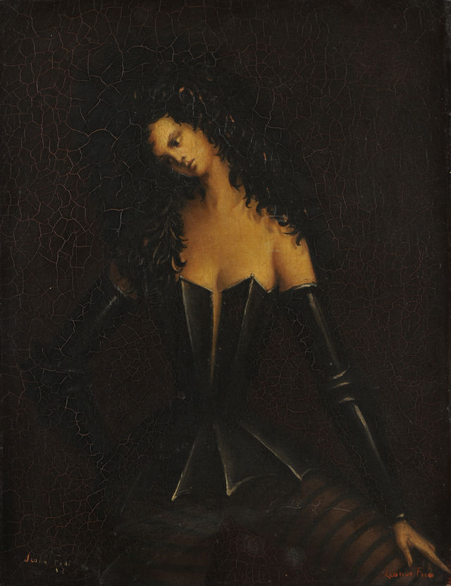 Leonor Fini Femme Costumee c 1938 Courtesy of Weinstein Gallery ad760