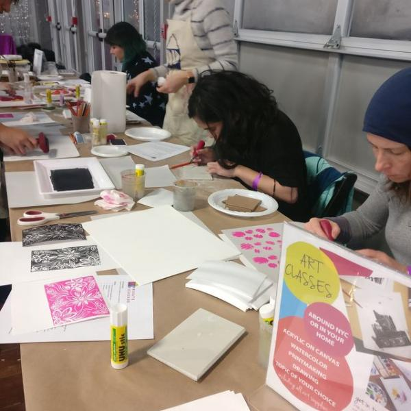 DIY Printmaking with Private Picassos
