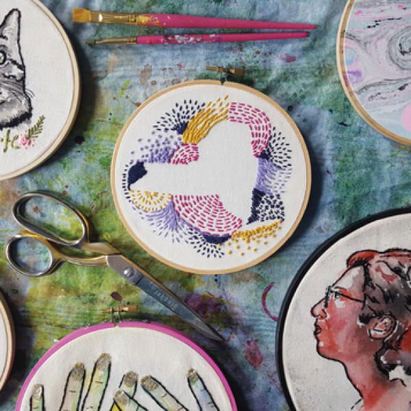 Hand-Embroidery with Anna Hart Turner