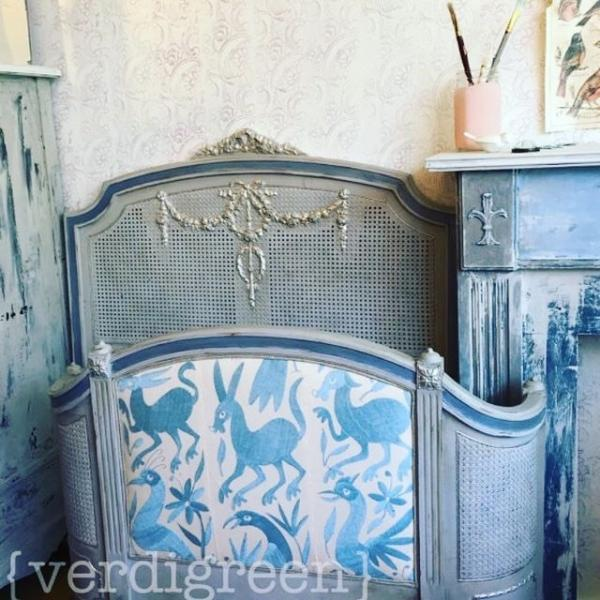 How to up-cycle your furniture with Chalk Paint with Verdigreen