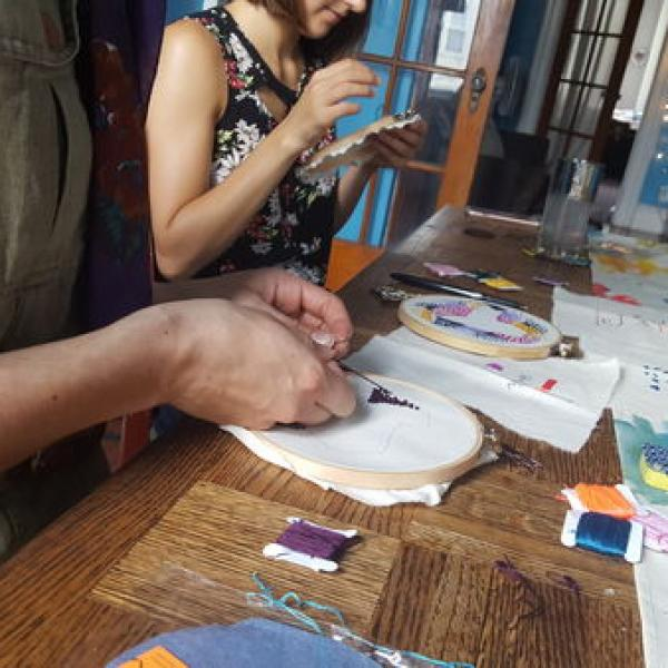 Intro to Embroidery with Anna Turner