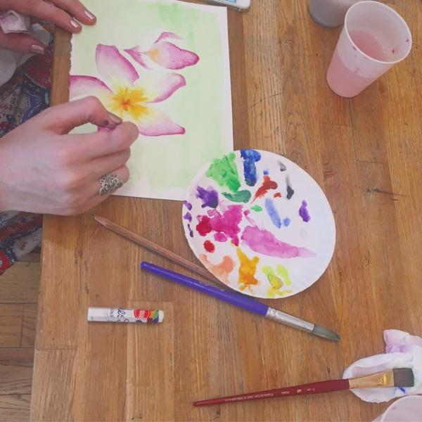 Intro to Watercolor with Private Picassos